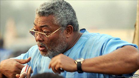 Jerry Rawlings (photographed in January 2009)