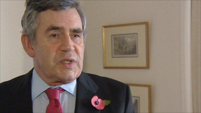 Gordon Brown, patron of Burma Campaign UK