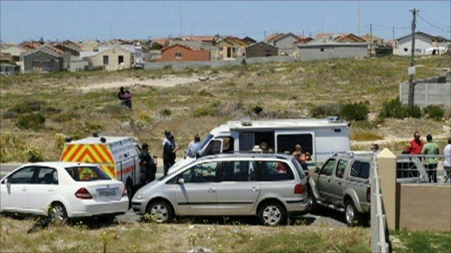 The scene where Anni Dewani's body was found