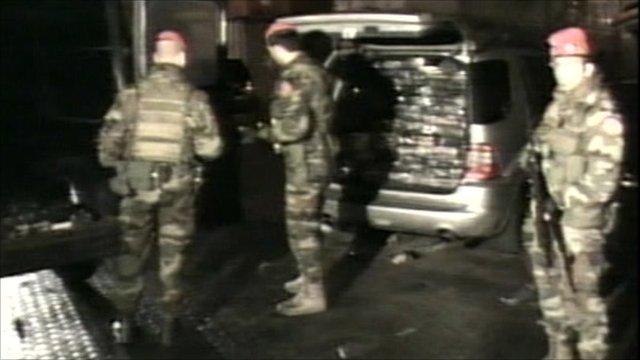 Major drugs haul in Italy