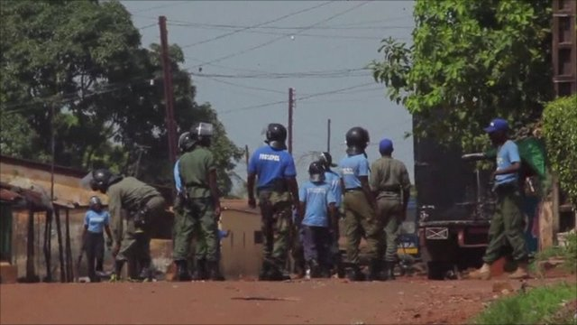 Tight security on streets of Conakry