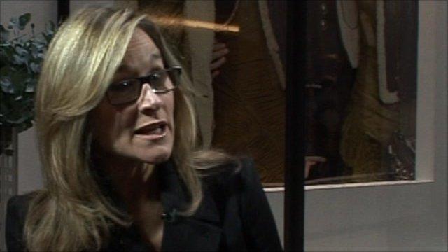 Angela Ahrendts, CEO Burberry