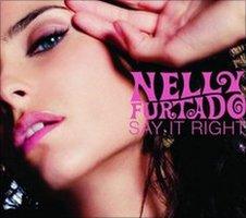 Nelly Futtado's Say It Right single cover