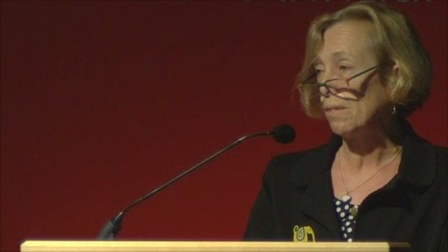 Royal College of Midwives general secretary Cathy Warwick