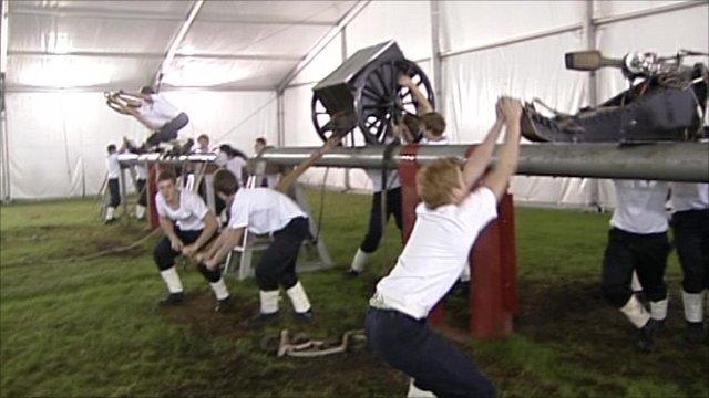 Wellington Field Gun crew