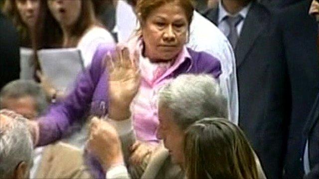 Argentina budget clash