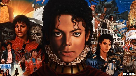 Cover of new Michael Jackson album