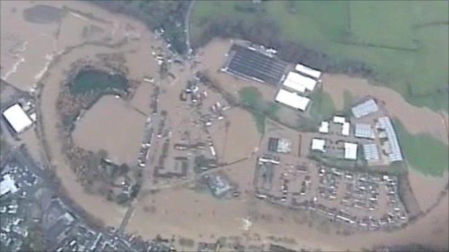 Cumbria floods in 2009