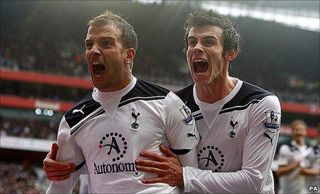 Van der Vaart and Bale AFC vs THFC