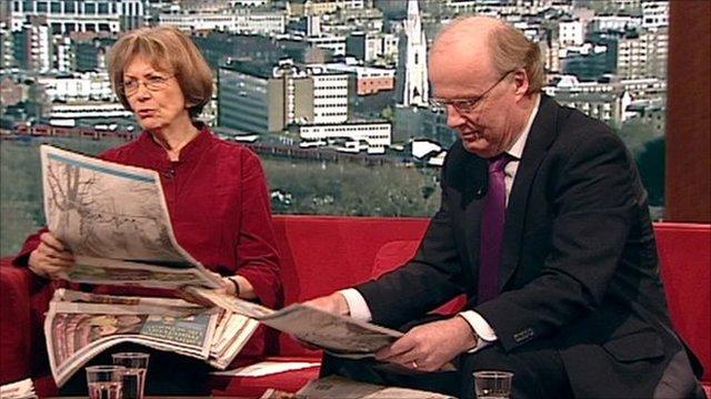 Dame Joan Bakewll and David Davies