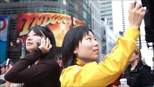 Tourists in New York, BBC