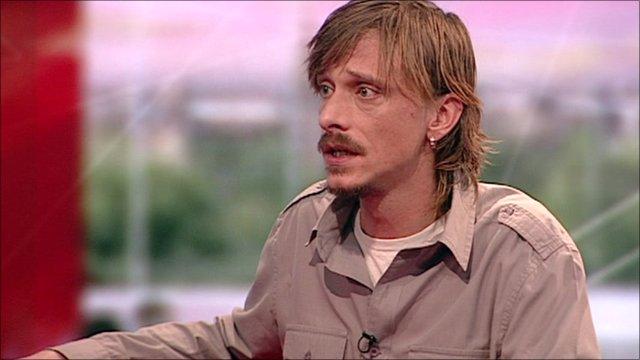 Mackenzie Crook on BBC Breakfast