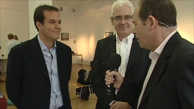 The BBC's Rory Cellan-Jones speaks to Brent Hoberman and Stephen Todd
