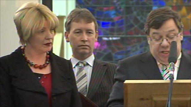 Irish Prime Minister Brian Cowen