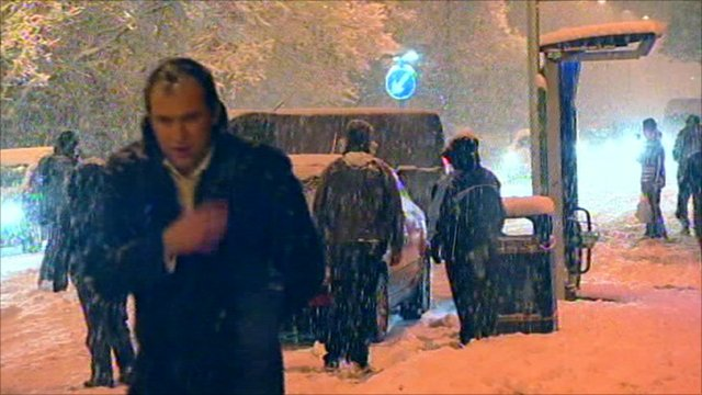 People struggle through last winter's snow