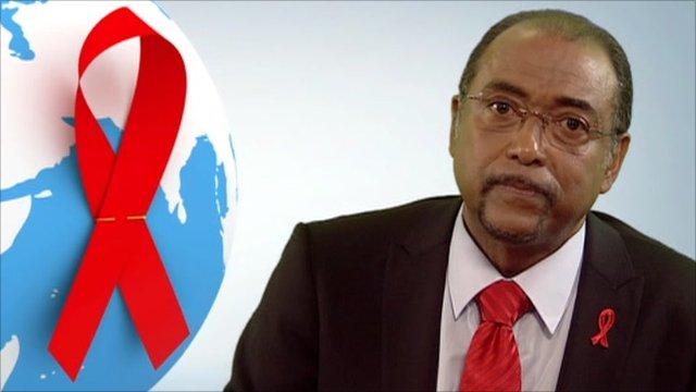Michel Sidibie, Executive Director of UNAIDS