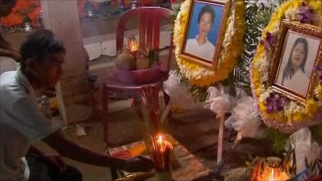 Tributes to victims of the stampede