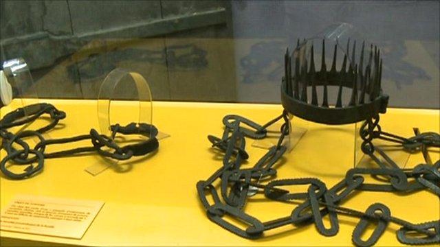 Bastille prison artefacts