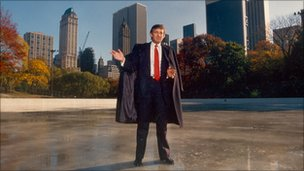 Donald Trump in Central Park