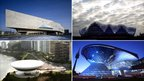 Phaeno Science Center (RIBA); Sage (PA) ; BMW Welt, Munich (handout); Museum of Contemporary Art, Rio (Getty Images)