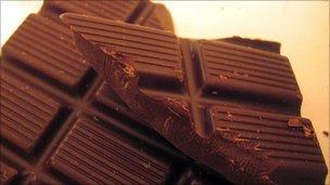 Dark chocolate - file pic