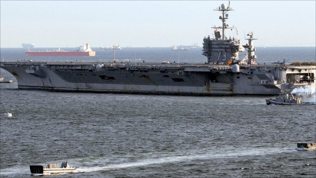 USS George Washington - 24 November 2010