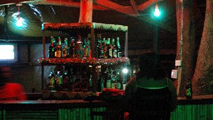 Woman in a bar in Juba (file photo)