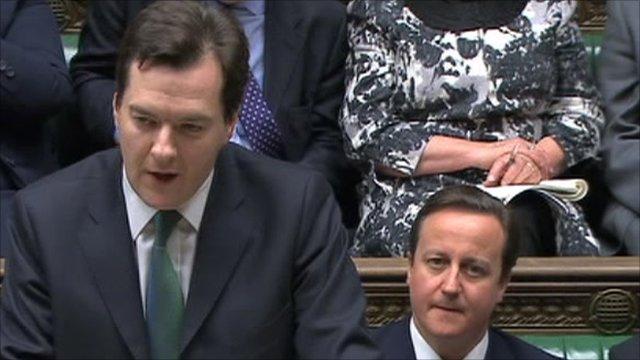George Osborne (left)