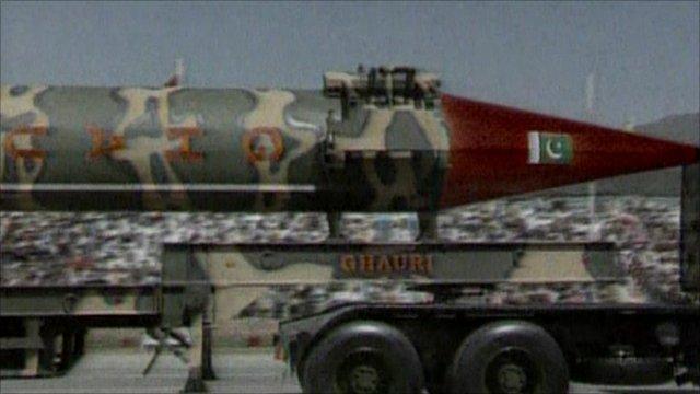 A Pakistani warhead