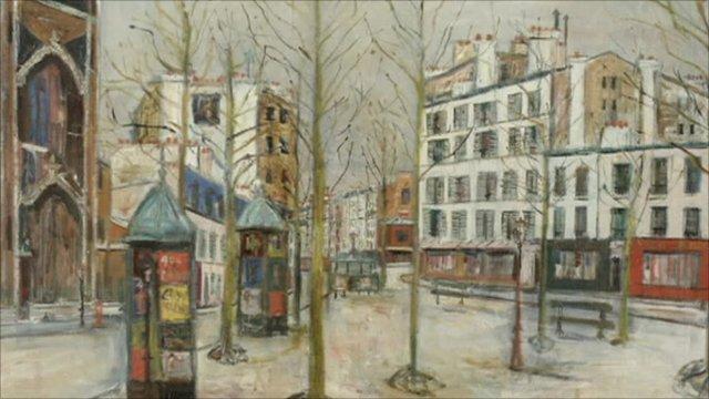 Maurice Utrillo painting