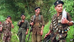 Members of the New People's Army (file photo)
