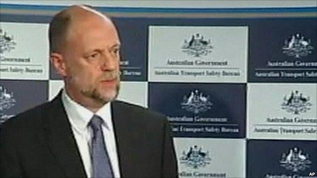 Martin Dolan, Chief Commissioner, Australian Transport Safety Authority
