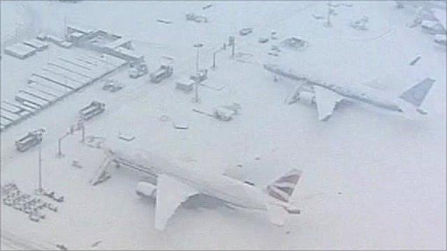 Gatwick snow