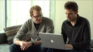 Glif co-founders Dan Provost and Tom Gerhardt