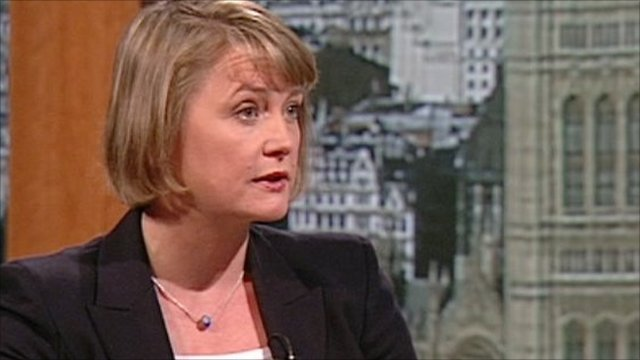 Yvette Cooper, Shadow Foreign Secretary, on the Andrew Marr Show