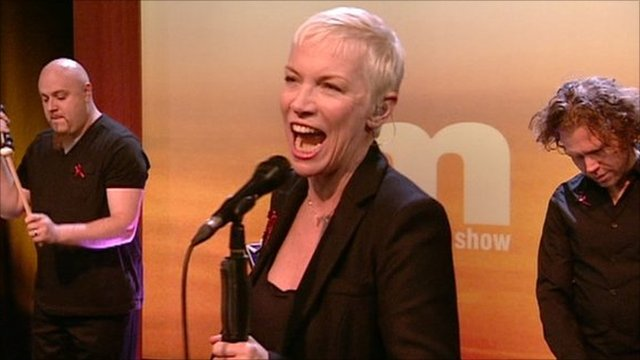Annie Lennox on the Andrew Marr Show