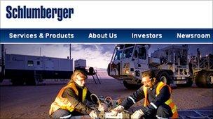 Schlumberger website