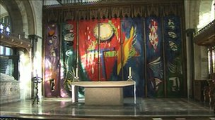 Chichester Cathedral tapestry