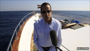 South Sinai governor Mohamed Abdul Fadil Shousha (6 December)