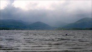 Loch Lomond from Milarrochy Bay