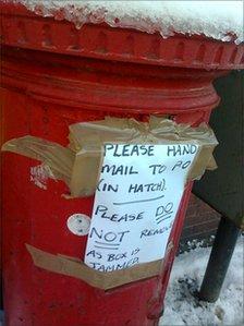 mailbox - edinburgh