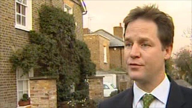 Liberal Democrat Leader, Nick Clegg