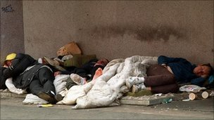 Homeless people generic