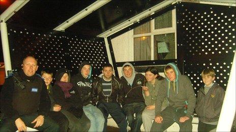 Llanfachraeth youth shelter