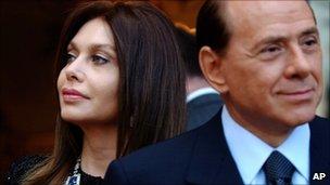 Veronica Lario and Silvio Berlusconi (2004)