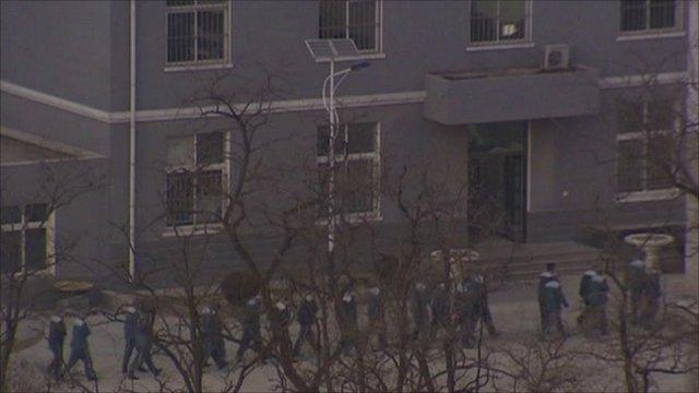 Prison where Nobel prize winner Liu Xiaobo is being held