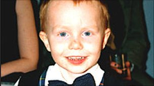 Picture of 5-year-old Ross Sneddon