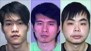 From left to right: Ting Fu Guo, Qun Xue and Hang Yu