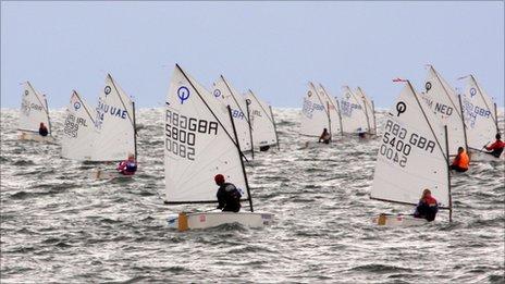 International Optimism Championship Pwllheli Sailing Club