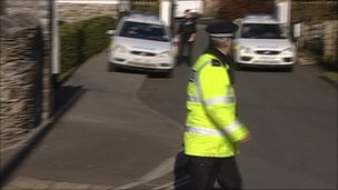 Police at Glade Close shooting incident